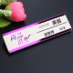 70X20mm Steel Name Tag ID Badge Holder Personalized Laser Engraved
