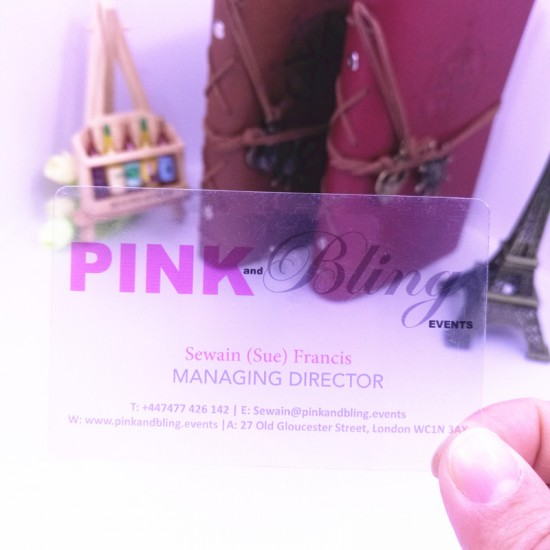 Factory Cheap Free Design Matte Transparent Business Card 200pcs 22$
