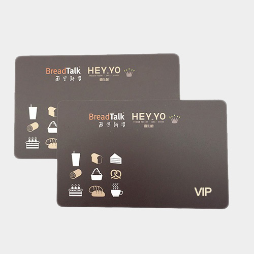 Plastic VIP Business Cards