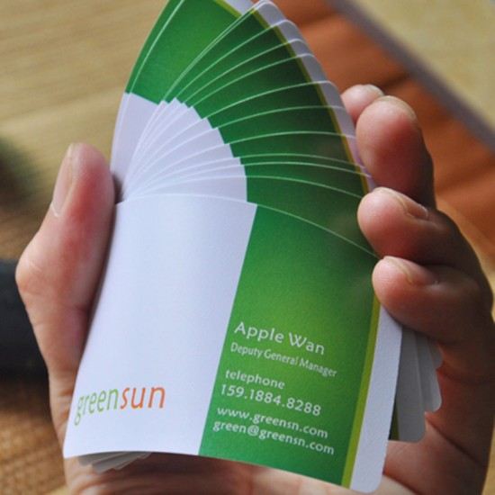 Matte Personal Business Card Wholesale Price 500per Design Free