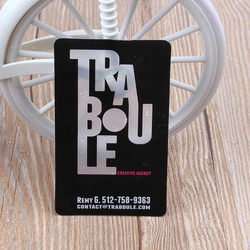 Printing transparent business card 500 pcs per lot