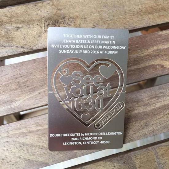 Steel Wedding Invitation Message Design Thank You Cards Wedding
