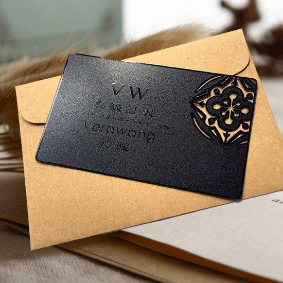 Black Business Card Frosted Shading Vut Out Vistaprint Business Cards
