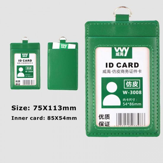 Neck Strap Card Bus ID Badge Holders Candy Colors Identity Badge